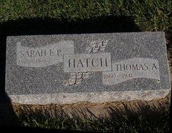 Sarah E. P. Hatch