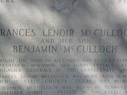 Gen Benjamin McCulloch