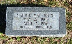 Maudie Mae Rhine