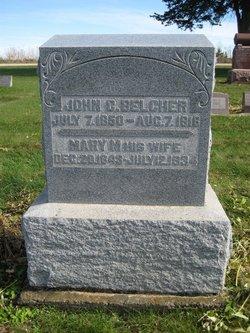 Mary M. <i>Shearer</i> Belcher