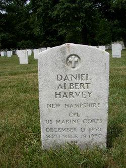 Corp Daniel Albert Harvey
