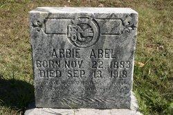 Nancy Abigail Abbie <i>DeRossett</i> Abel