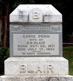 Annie <i>Penn</i> Blair