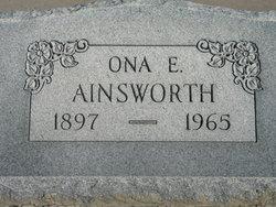 Ona Ellen <i>Ladd</i> Ainsworth