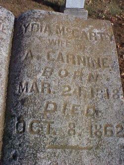 Lydia A <i>McCarty</i> Carnine