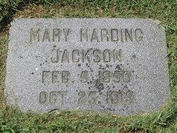 Mary Elizabeth <i>Harding</i> Jackson