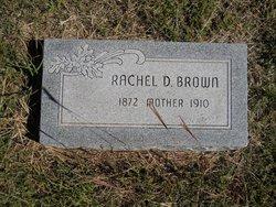 Rachel D <i>Haines</i> Brown