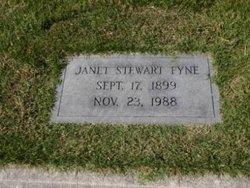 Janet <i>Stewart</i> Fyne