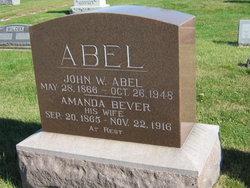 Amanda <i>Bever</i> Abel