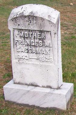 Frances Mary <i>Sprankle</i> Sassaman