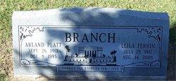 Arland Platt Branch
