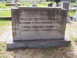 Emma <i>Quillian</i> Roberts
