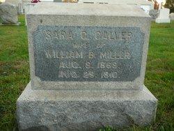Sara Goldson <i>Calver</i> Miller