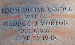 Edith Lillian <i>Randle</i> Morton