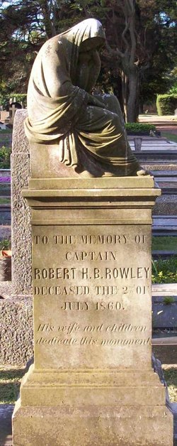 Capt Robert Hibbert Bartholomew Rowley