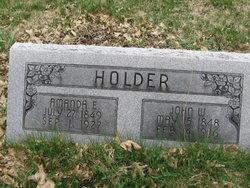 Amanda Evaline <i>Sanders</i> Holder