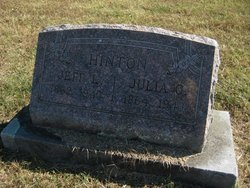 Julia C. <i>Barringer</i> Hinton