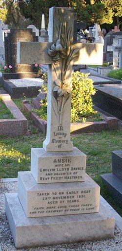 Ansie <i>Hastings</i> Lloyd-Davies