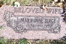 Mary Jane Birge