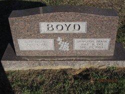 Spurgeon Franklin Frank Boyd