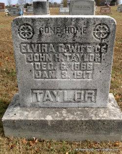 Elvira C. <i>Eastridge</i> Taylor
