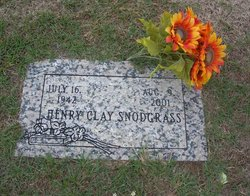 Henry Clay Snodgrass, Sr