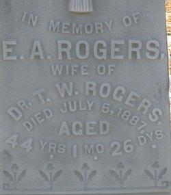 Emily A. <i>Adams</i> Rogers