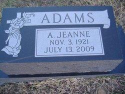 A Jeanne <i>Stewart</i> Adams