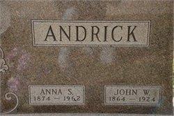 Anna <i>Boroff</i> Andrick-Stout