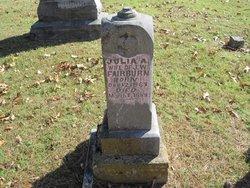 Julia A <i>Stone</i> Fairburn