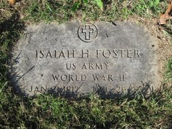 Isaiah H Foster