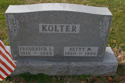 Betty Mae <i>Armstrong</i> Kolter