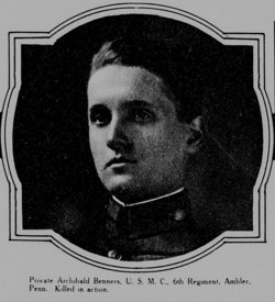Pvt Archibald B. Benners