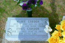 Mamie <i>Barry</i> Gordon