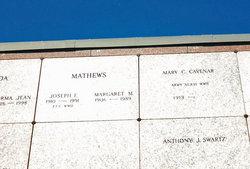 Mary Cecelia <i>Mathews</i> Cavenar