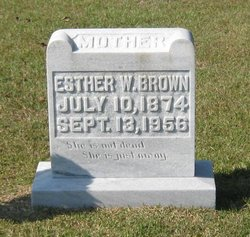 Esther W. Brown