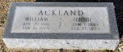 Jennie S Ackland