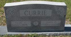 Elsie Maria <i>Adams</i> Currie