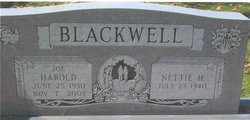 Harold W. Blackwell, Sr