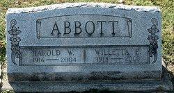 Harold Willard Abbott
