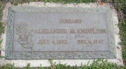 Alexander M. Knowlton