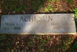 Florence B <i>Bales</i> Acheson