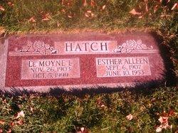 Esther Alleen <i>Fagg</i> Hatch