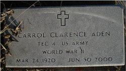 Carrol Clarence Aden