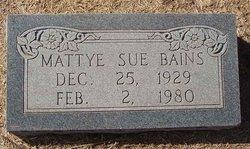 Mattye Sue Bains