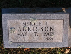 Myrtle L. <i>Howard</i> Adkisson
