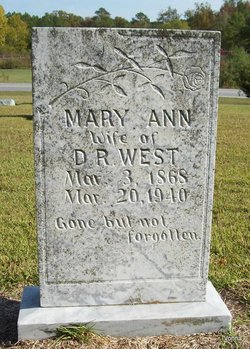 Mary Ann West