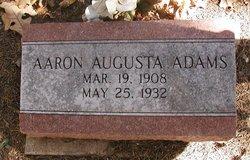 Aaron Augusta Adams