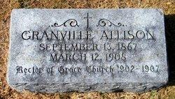 Rev Granville Allison