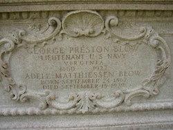 Capt George Preston Blow